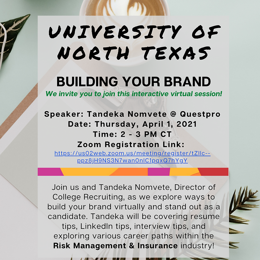 4/1/21 - Building Your Brand - Making the Connection