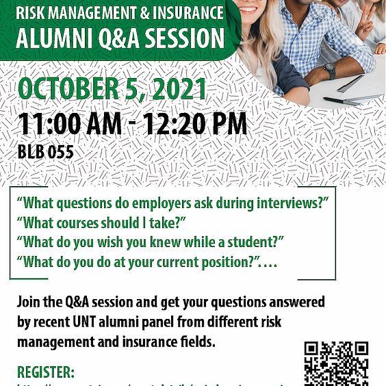 10-5 RMI Alumni Q&A Session
