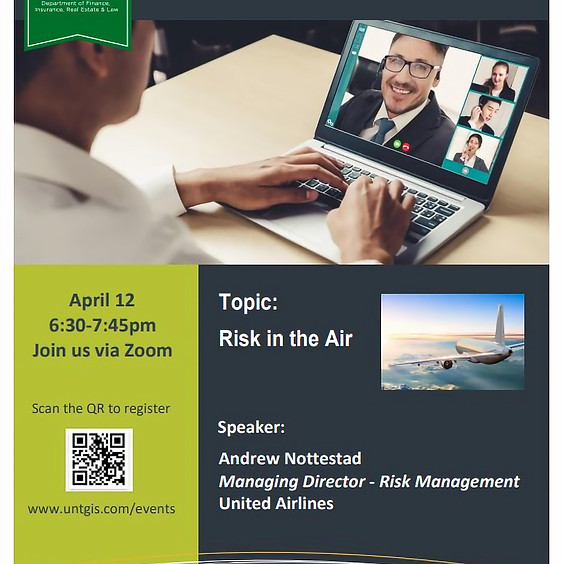 April 12, 2021 -  RMI Speaker Series - Andy Nottestad (United Airlines)