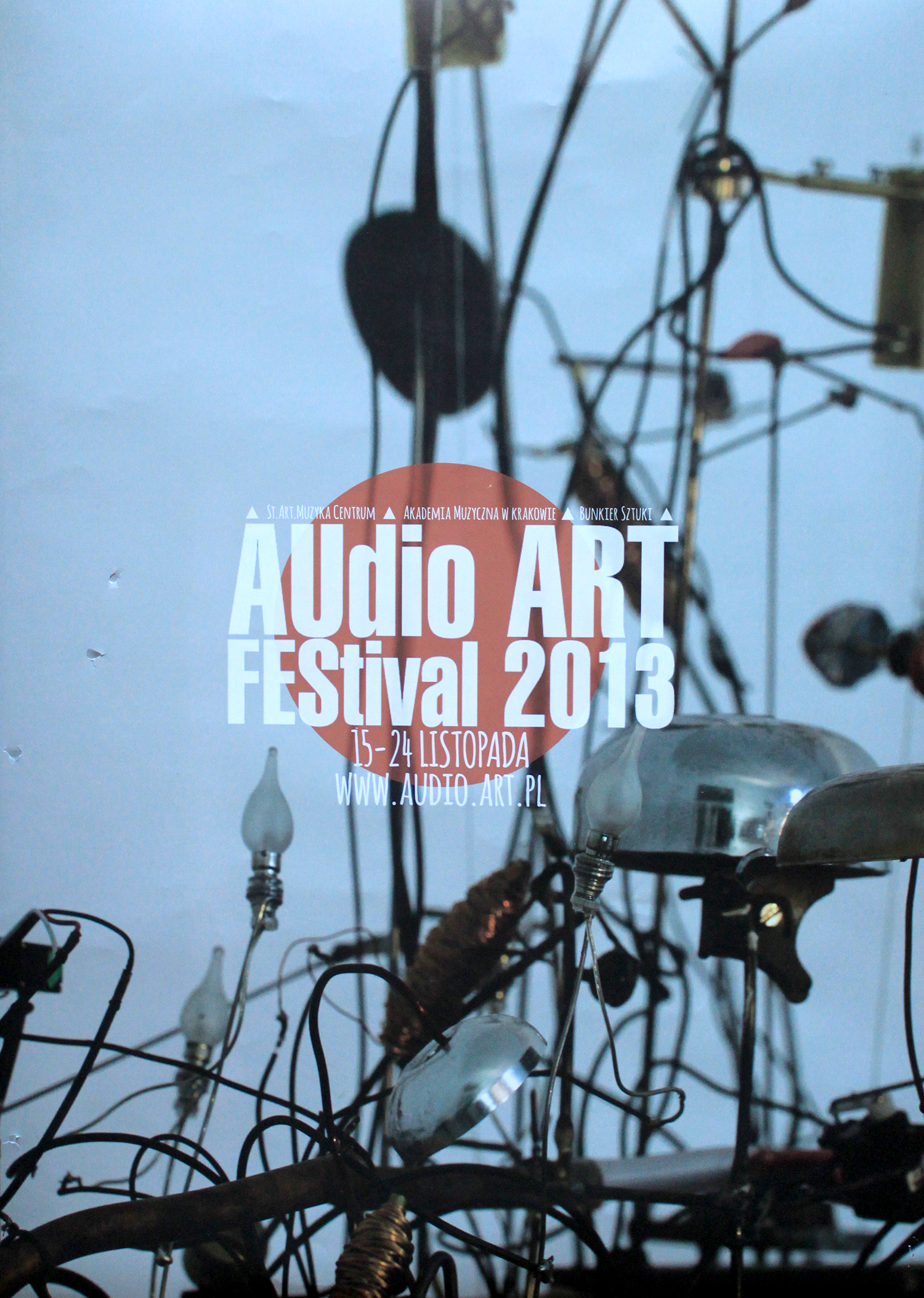 Poster Audio Art Festival 2013.