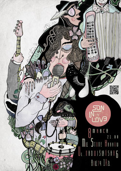 Poster, concert Son in Love.