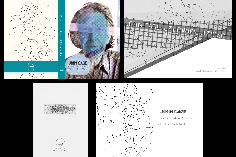 John Cage, book design.