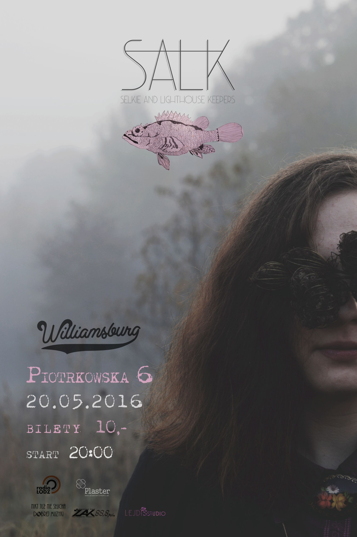 Salk concert poster