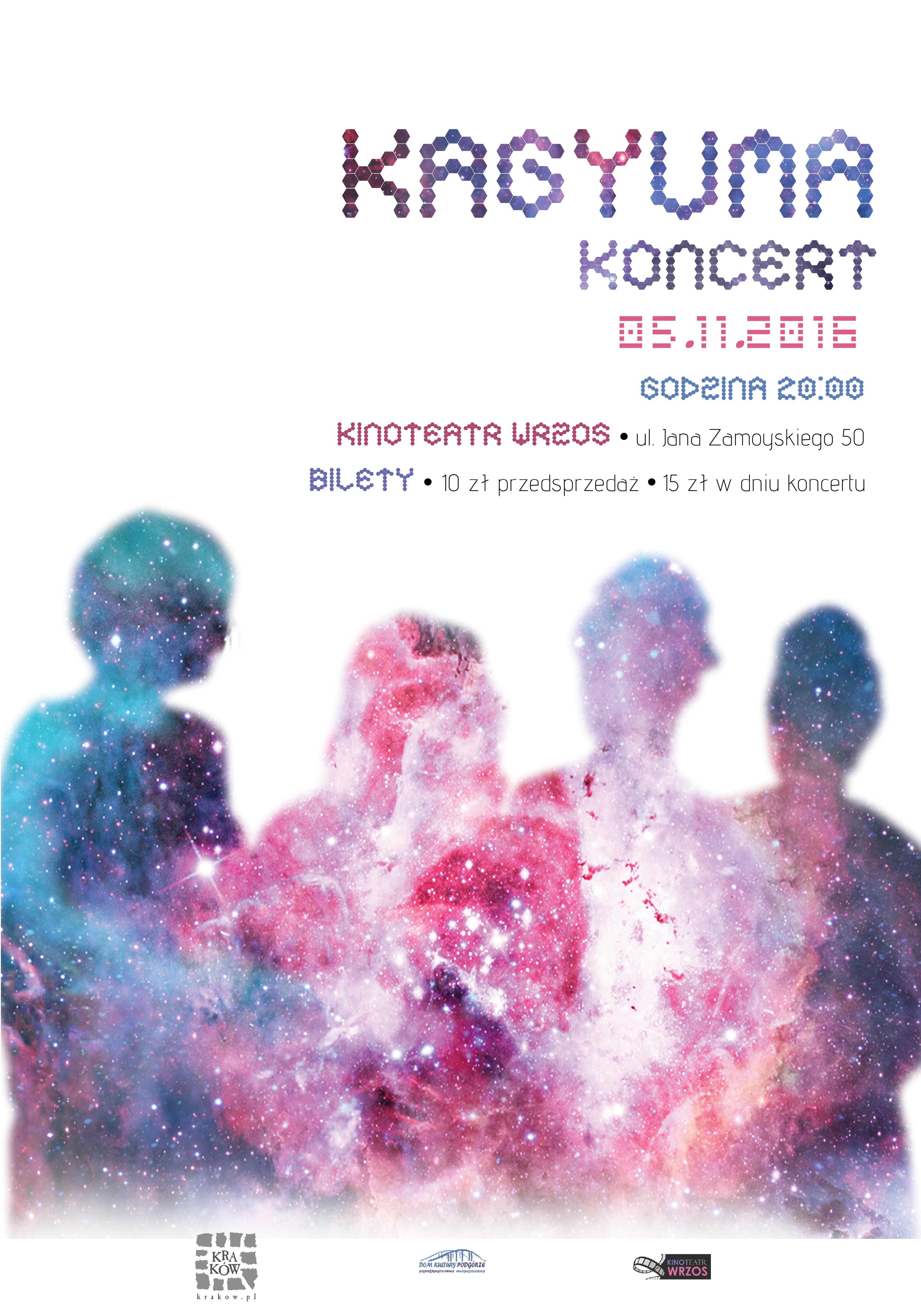 KAGYUMA concert poster design.