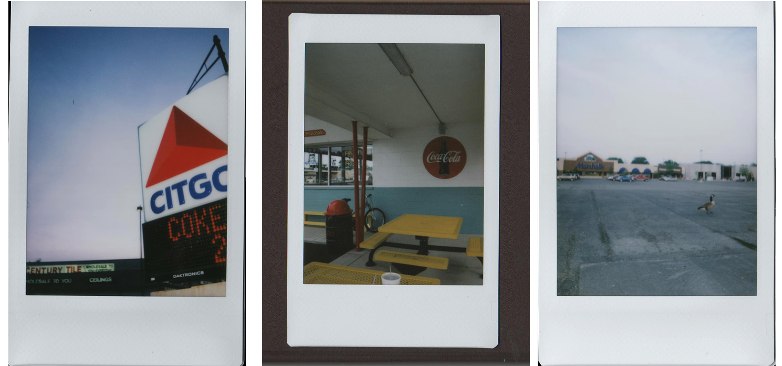 Instax photo sketchbook.