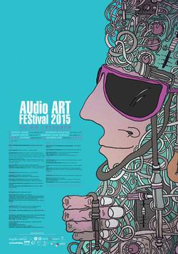 Audio Art Festival 2015 poster.