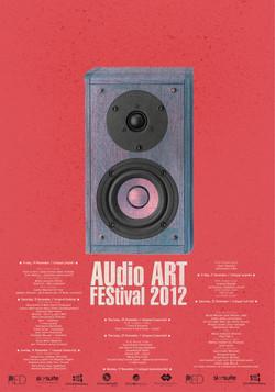Audio Art Festival 2012 Poster