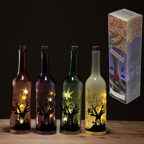 Fairy Tree decorative bottle with LED lights