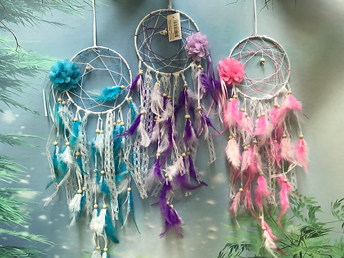 15cm flower design dreamcatcher