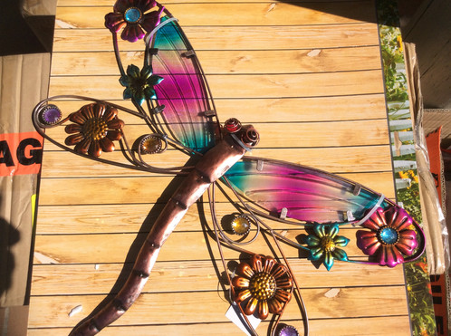 50cm dragonfly metal wall art | The Magic Fairy Tree | Fairy Shop ...