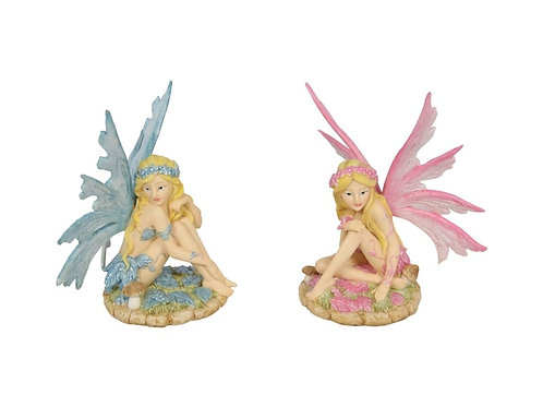 14cm Sitting Forest Fairy