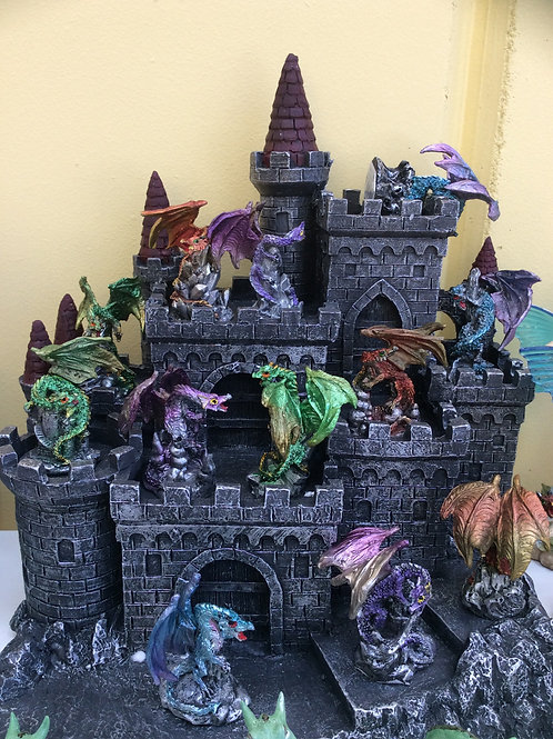 6cm dragon figurine