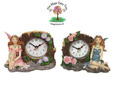 Fairy Figurine Clock
