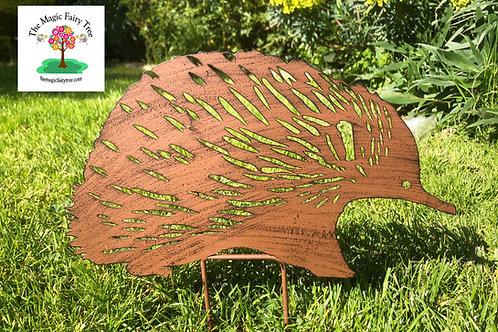 35cm Metal Echidna Garden Stake