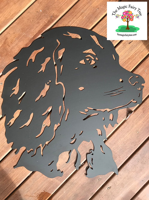 Spaniel Metal Wall Art