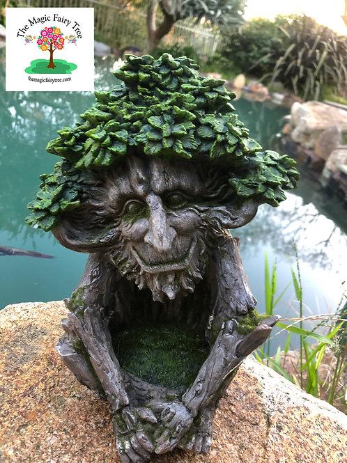 Solar Green Man Pagan Tree House