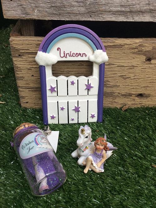 Unicorn door set