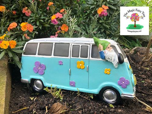 Solar gnome camper van VW