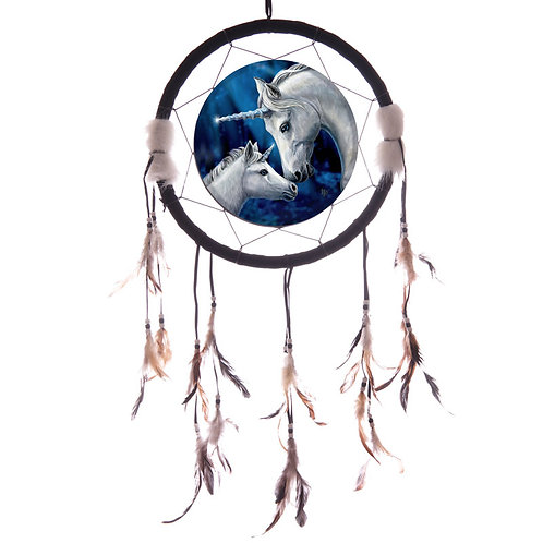 33cm Sacred Love Unicorn Dreamcatcher