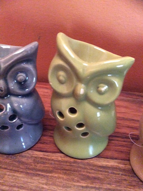 Owl tealight burner