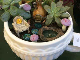 The Magic Fairy Tree - Miniature Fairy Gardens