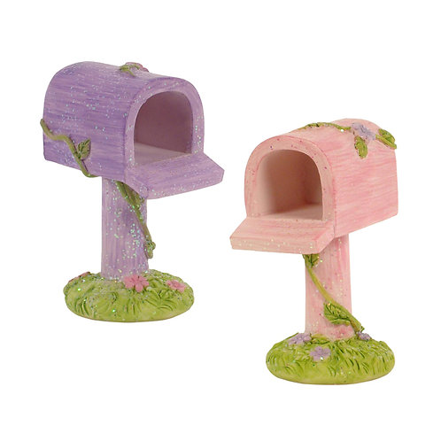 Pink or Purple sparkly mail box letter mailbox