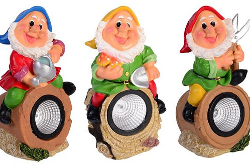 Solar Gnome Figurines