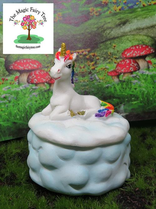 7cm rainbow unicorn box