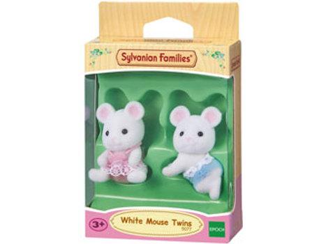 Sylvanian Families - White Mouse Twins