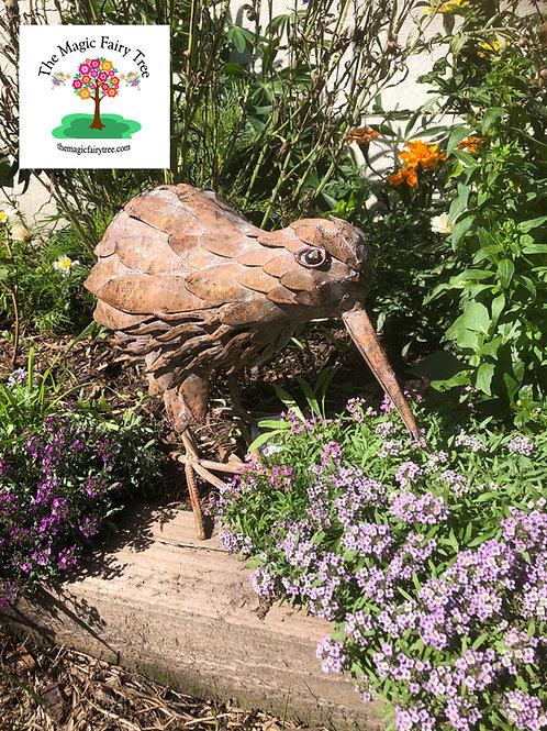 Metal Kiwi Sculpture