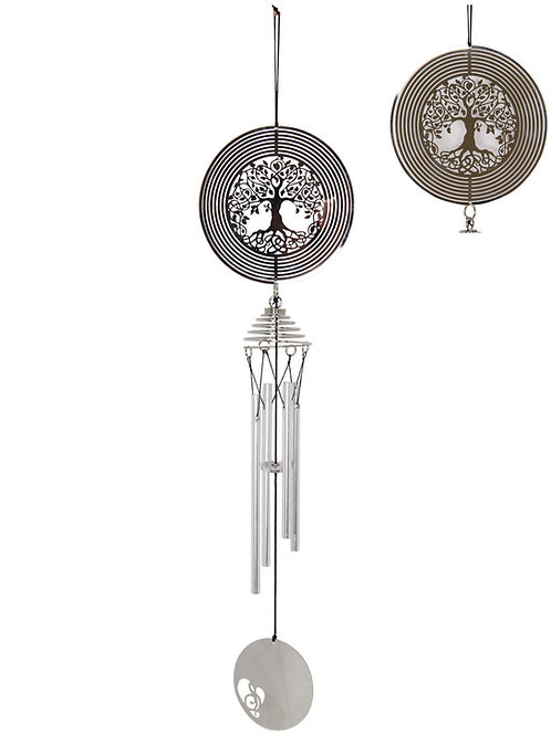 Tree of Life Spinning Windchime