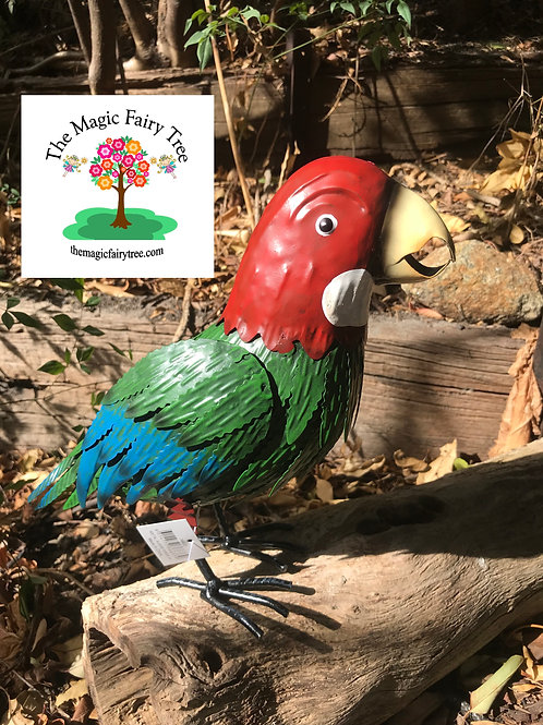 Metal Parrot Australian Bird Sculptures