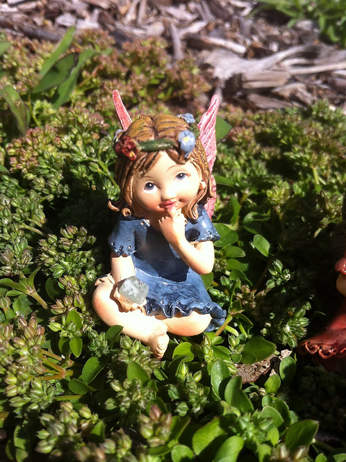 Fairy Kingdom 5cm Miniature Fairy Girl Figurine