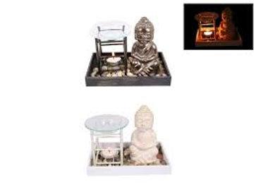Buddha tealight oil burner
