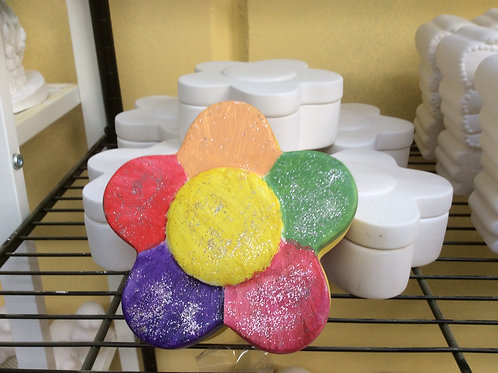 Ready to paint ceramic flower box pottery