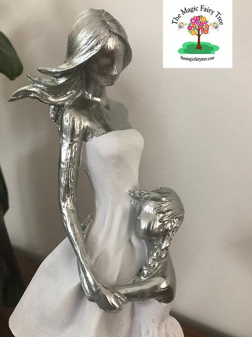 33cm Mother's Embrace Statue Figurine