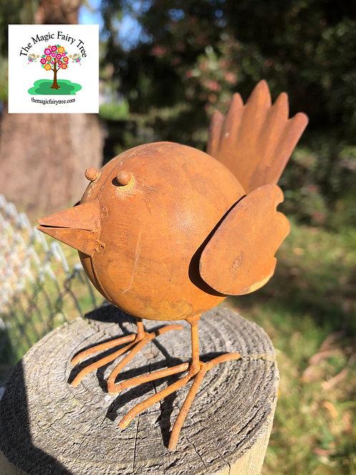 Rusty metal bird - tweety