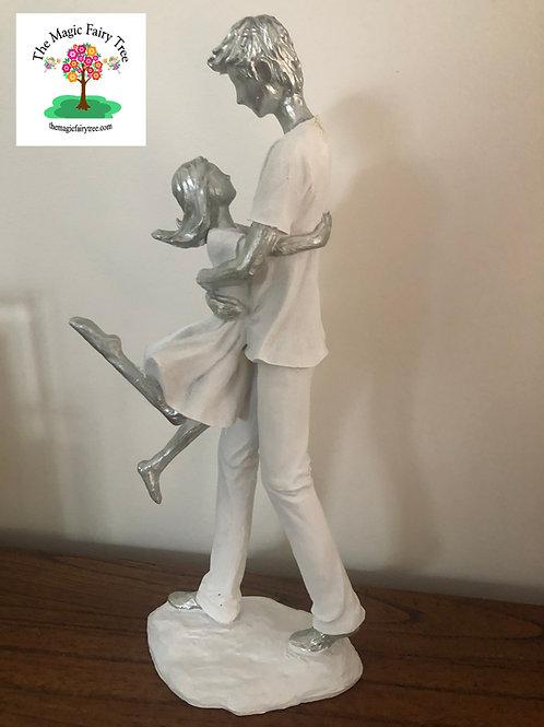 35cm Father's Love Statue Figurine
