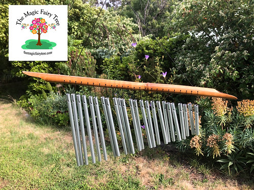 24 tube bamboo windchimes