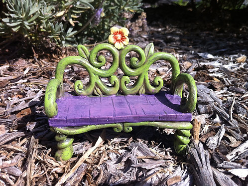 Mini World Fairytale Bench