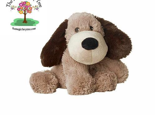 Warmies Cozy Plush Brown Puppy