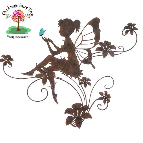 Fairy Butterfly Wings Wallhanging