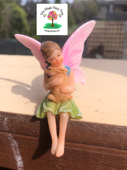 Fairy Ava with rabbit