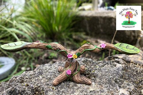 Fairy Garden Rocking Boat Seesaw