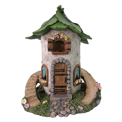 Stone Cottage with Slide