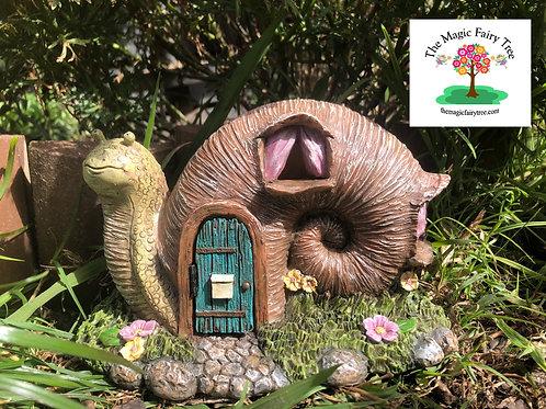 Snail Fairy House