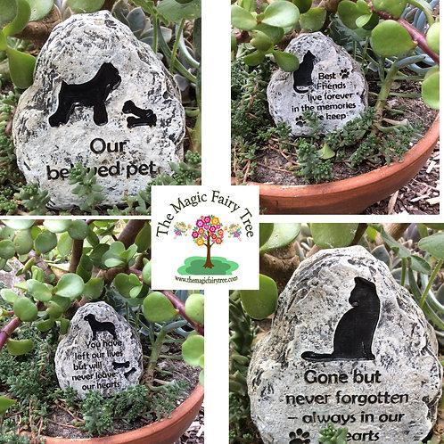9cm pet memorial for a dog or a cat.
