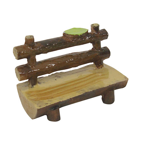 Fairy log bench seat - 6.5cm