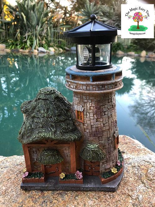 Solar Fairy Lighthouse