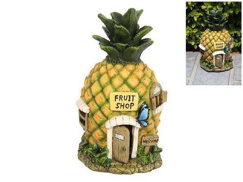 Pineapple fairy house - 20cm